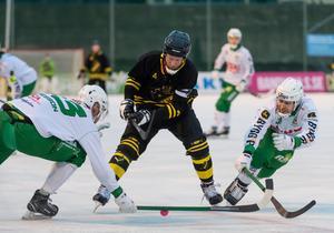Johan Willes och hans AIK vann säsongens första derbyt på Östermalms IP. Bild: Stina Stjernkvist/TT