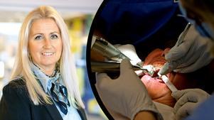 Tandvårdsdirektör Annri V Thimstrand vill få mer pengar att utbilda egna specialisttandläkare till en verksamhet som har stora bemanningsproblem.