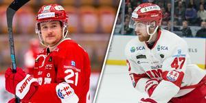 Sebastian Kaijser och Andreas Söderberg har förlängt kontrakten med Timrå. Bild: Bildbyrån