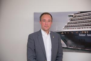 Joel Smith, infrastrukturdirektör på Sjöfartsverket.
