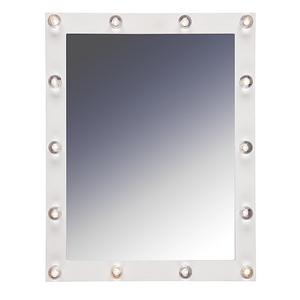 Spegel med LED-belysning, 46x36 cm, 299 kronor på Clas Ohlson.