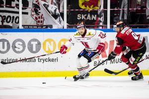 Jonathan Andersson spelar inte mot Ässät. Bild: Avdo Bilkanovic/Bildbyrån