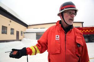 En gnista från pannan antände spån i silon, berättade  Jan-Olov Olsson, räddningschef Räddningstjänsten Älvdalen.