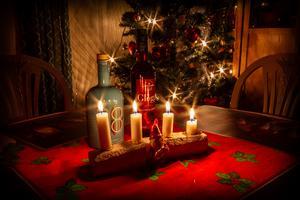 Passade på att föreviga lite julkänsla från 2018 innan den åker ut, skriver Joakim Öryd om sin bild.
