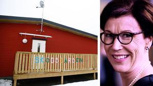 Förskoleavdelningen Skogsgården har precis öppnat i Nykvarn. Stora krav ställs på den kommun som bedriver förskola i lokaler som egentligen är till för annat, säger forskaren Pia Williams. Bild: Mathias Jonsson / privat