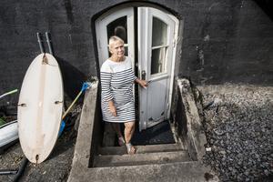 Föreståndaren Anja Molin tror att inbrottstjuven har brutit sig in genom att krossa ett fönster till källardörren.