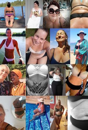 Bodylove.  Savita uppmanar andra kvinnor att ta bilder av sig själva, och se skönheten i alla dessa olika kroppar. Alla kvinnor på bilderna har sagt ja till att vara med i Dt.