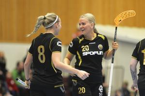 Erica Hultin och Linnea Strömberg.