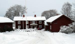 Stakgården, platsen för Lumshedens traditionsenliga julmarknad. Foto: Walters Börje Edénius.
