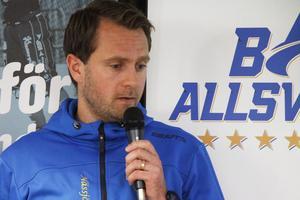 Patrik Gustafsson Thulin menar att elitseriekvalet är mer ovisst i år än tidigare. Själv har han varit med under de senaste fyra kvalen för Nässjö.