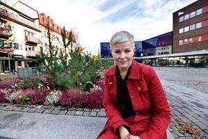 Borlänges näringslivschef Angelica Ekholm.