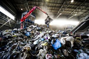 Sävstaås avfallsanläggning.