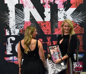 Nordic Ink lockar 200 deltagande tatuerare. För Karin Jönsson var det en stor ära att bara få vara med, men det gick ännu bättre än så – hon knep tredje pris i sin tävlingsklass.