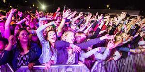 Laxfestivalen under Nipyran i Sollefteå har blivit en stor folkfest.