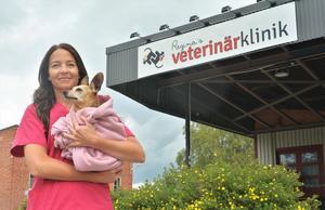 Idag är det över sex år sedan Regina Lindberg startade sin veterinärklinik i Gullänget.