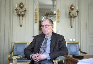 Foto: Janerik Henriksson / TT.  Anders Olsson, Svenska akademiens tf ständige sekreterare.