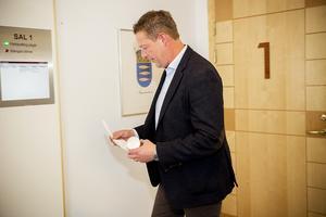 Hans Carlsson vittnade under onsdagen i rättegången mot Daniel Kindberg , Peabmannen och Sollefteåbon.