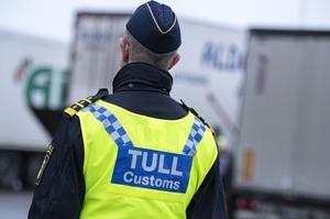 Tullen har svårt att stoppa stöldligor. Foto: Johan Nilsson/TT