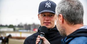 Kanske har Oscar Berglund fått in en ny stjärna till sitt travstall. Hope And Dreams har 100 i segerprocent i sin nya omgivning. Fyra starter – fyra segrar. Foto Martin Nilsson