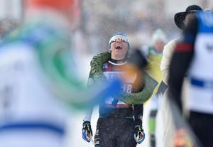 Lina Korsgren blev damsegrare i Vasaloppet 2018.