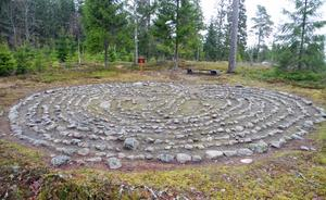 Labyrinten i Ornunga är kanske den mest kända i Västergötland.