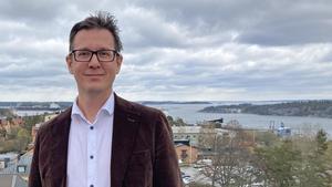 Mikael Persson (L) är tillträdande ordförande för näringslivs- och arbetsmarknadsnämnden i Nynäshamn.