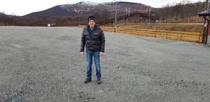 Ture Myhr är ordförande för Tänndalens byalag. Foto: Privat