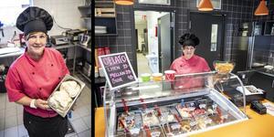 Café Magneten är åter öppet. Renate Alstad har tagit över kontraktet att driva serveringen.