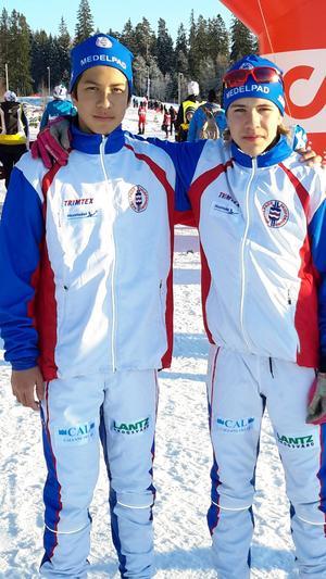 George Ersson och Rasmus Westerlund.