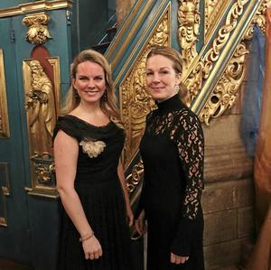 Elin Skorup och Anna Zander dominerade och övertygade med sina insatser på lördagskvällen.