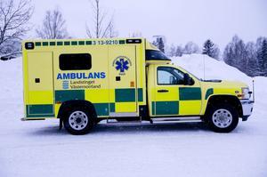 De nya stora ambulanserna blir bättre både för patienter och personal.