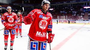 Västervik tog tre mycket viktiga poäng när man besegrade Modo med 3–2. Bild: Daniel Eriksson/Bildbyrån.