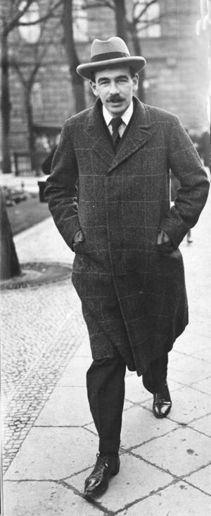 Nationalekonomen John Maynard Keynes  Foto:  TT