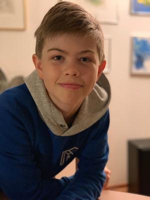 Speltestaren Leo, 11 år.