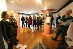 I lördags var det vernissage för Staffan Ekegrens och Maria Sedells turnerande utställning.