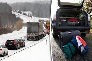 Packa med omdöme och planera tidsmässigt är ett par av de råd NTF ger inför påskhelgen. Bild: Linus Wallin / Jonas Ekströmer/TT