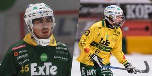Christoffer Norgren och Emil Järbing fortsätter i Ljusdal. Foto: Andreas Tagg/Victoria Mickelsson.