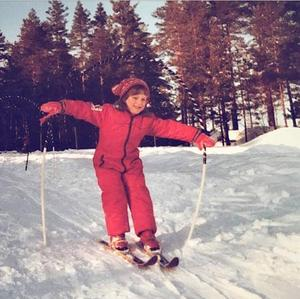 Fantastisk teknik i längdspåret sedan Skogsmulle på Gamla Berget i Falun 1982.