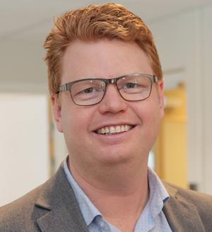Fredrik Rönning (S) är kommunstyrelsens ordförande i röda Smedjebacken.  Foto: Harri Sternljung