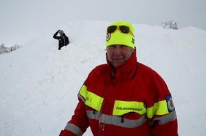 Peter Karlsson organiserar fjällräddarna i Dalarna med hjälp av Svefro. Han skulle gärna se att de kom till användning betydligt mer än de gör.