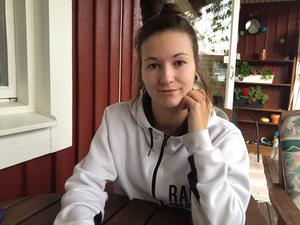 My Eriksson är en fighter som överlevde tumören som växte i hennes matstrupe.