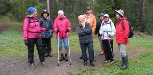 Bergebo var platsen där medlemmarna i SPF Tuna-Säter vandrade senast.