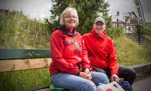 Monica och Ulf Hugo från Söderbärkes kyrkbåtsförening.