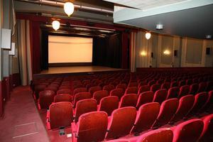 Många föreställningar har visats i stora salongen. Foto: Mäklarhuset.