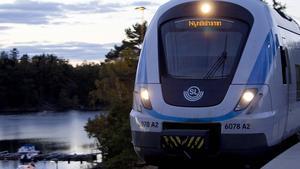 Snart kan du åka snabbtåg till Nynäshamn igen och spara tio minuter på pendeln.
