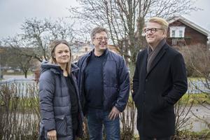 Marlene Ljung, Thomas Mogren och Christer Johansson var på plats på Gästgivars för att belönas av Lions.
