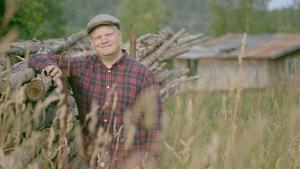 Skogsbonden Per Solberg, en av bönerna i årets