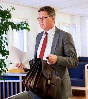Målsägandebiträdet Johan Lavås.