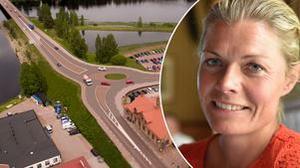 Projektledare Åsa Bergqvist, Trafikverket uppmanar alla att tänka på resultatet.