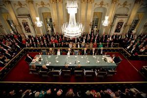 Svenska Akademien befinner sig i djup kris, enligt flera bedömare.Foto: Fredrik Persson/TT